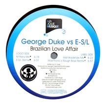GEORGE DUKE  VS E-S/L : BRAZILIAN LOVE AFFAIR