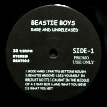 BEASTIE BOYS : RARE AND UNRELEASED