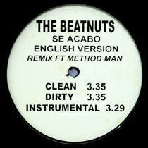 BEATNUTS  ft. METHOD MAN : SE ACABO  (SPANISH VERSION)