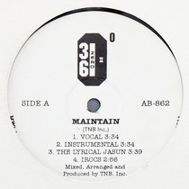 36ZERO : MAINTAIN  / THE LYRICAL JASUN
