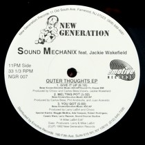 SOUND MECHANIX  ft. JACKIE WAKEFIELD : OUTER THOUGHTS EP
