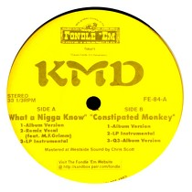 KMD : WHAT A NIGGA KNOW