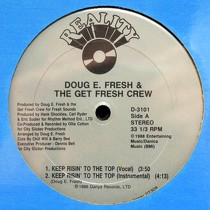 DOUG E. FRESH : KEEP RISIN' TO THE TOP