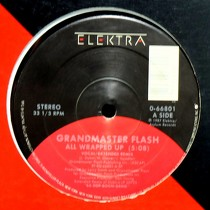 GRANDMASTER FLASH : ALL WRAPPED UP