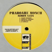 PHAROAHE MONCH  ft. BUSTA RHYMES : SIMON SAYS  / NEXT SH*T