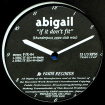 ABIGAIL  / ROSS : IF IT DON'T FIT  / MARIA