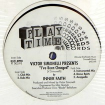 VICTOR SIMONELLI  presents INNER FAITH : I'VE BEEN CHANGED