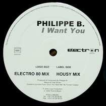 PHILIPPE B. : I WANT YOU