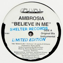 AMBROSIA : BELIEVE IN ME