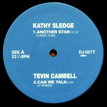 KATHY SLEDGE  / TEVIN CAMPBELL / JOE T. VANNELLI PROJECT : ANOTHER STAR  / CAN WE TALK / SWEETES...
