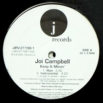 JOI CAMPBELL : KEEP IT MOVIN'