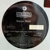 KANYE WEST  ft. JAMIE FOXX : GOLD DIGGER