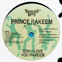 PRINCE RAKEEM : OOH I LOVE YOU RAKEEM  / DEADLY VENOMS