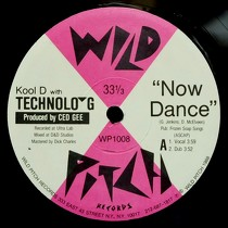 KOOL D  with TECHNOLO-G : NOW DANCE  / GO TO WORK