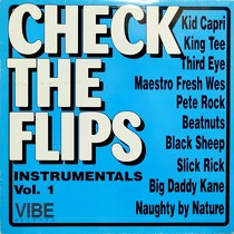 V.A. : CHECK THE FLIPS INSTRUMENTALS  VOL. 1