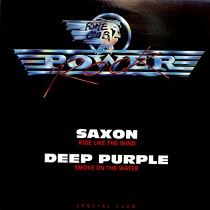 SAXON  / DEEP PURPLE : RIDE LIKE THE WIND  / SMOKE ON THE WATER