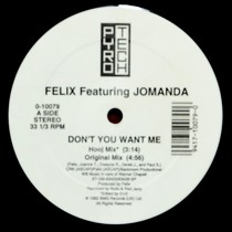 FELIX  ft. JOMANDA : DON'T YOU WANT ME