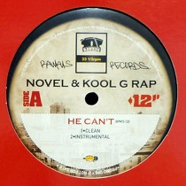 NOVEL  & KOOL G RAP : HE CAN'T