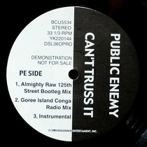 PUBLIC ENEMY  / MONIE LOVE : CAN'T TRUSS IT  / IT'S A SHAME