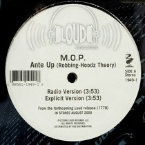 M.O.P. : ANTE UP  (ROBBING-HOODZ THEORY)