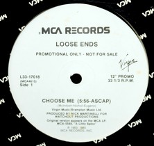 LOOSE ENDS : CHOOSE ME