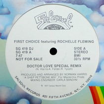 FIRST CHOICE  ft. ROCHELLE FLEMING : DOCTOR LOVE  (SPECIAL REMIX)