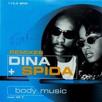 DINA + SPIDA : BODY MUSIC  (REMIXES)