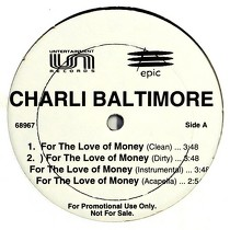 CHARLI BALTIMORE : FOR THE LOVE OF MONEY