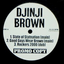 DJINJI BROWN : SOS  / GOOD GUYS