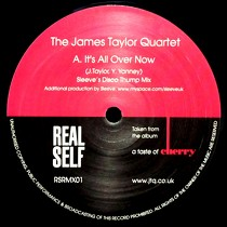 JAMES TAYLOR QUARTET : IT'S ALL OVER NOW