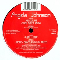 ANGELA JOHNSON : RESCUE ME