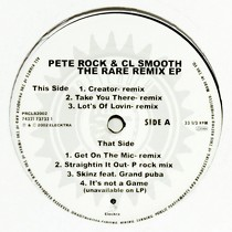 PETE ROCK & C.L. SMOOTH : THE RARE REMIX EP