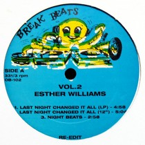 ESTHER WILLIAMS  / DINOSAUR L : LAST NIGHT CHANGED IT ALL  / GO BANG