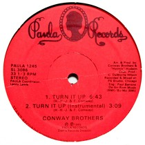 CONWAY BROTHERS : TURN IT UP