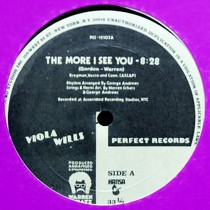 VIOLA WILLS : THE MORE I SEE YOU  / I CAN'T STAY AW...