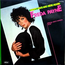 FREDA PAYNE : HAPPY DAYS ARE HERE AGAIN  / I'LL DO ...