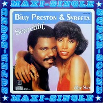 BILLY PRESTON  & SYREETA : SEARCHIN'