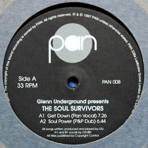 GLENN UNDERGROUND  presents THE SOUL SURVIVORS : GET DOWN