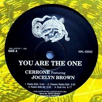 CERRONE  ft. JOCELYN BROWN : YOU ARE THE ONE