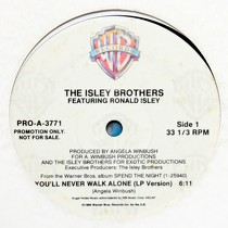 ISLEY BROTHERS  ft. RONALD ISLEY : YOU'LL NEVER WALK ALONE