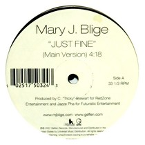 MARY J. BLIGE : JUST FINE