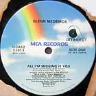 GLENN MEDEIROS : ALL I'M MISSING IS YOU