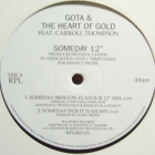 GOTA & THE HEART OF GOLD : SOMEDAY