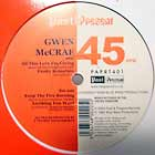 GWEN McCRAE : ALL THIS LOVE I'M GIVING  / FUNKY SENSATION