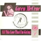 GWEN McCRAE : ALL THIS LOVE THAT I'M GIVING