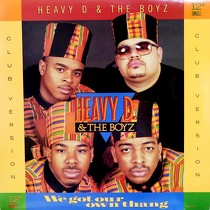 HEAVY D & THE BOYZ : WE GOT OUR OWN THANG