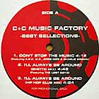 C+C MUSIC FACTORY : BEST SELLECTIONS