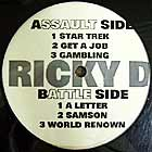 RICKY D  (SLICK RICK) : WORLD RENOWN  EP