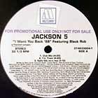 JACKSON 5  ft. BLACK ROB : I WANT YOU BACK  '98