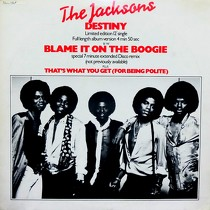 JACKSONS : DESTINY  / BLAME IT ON THE BOOGIE (EXTENDED DISCO REMIX)